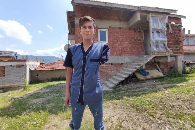 Bursa'da genç yaşında kaybettiği kolu için adalet istiyor