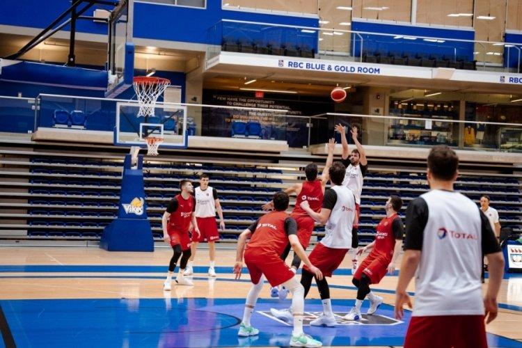 A Erkek Milli Basketbol Takımı'nın kadrosu açıklandı
