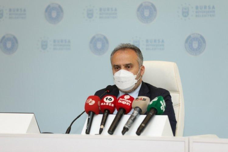 """Bursa Büyükşehir Belediye Başkanı Aktaş: """"Yere tek bir çöp dahi değmeyecek"""""""