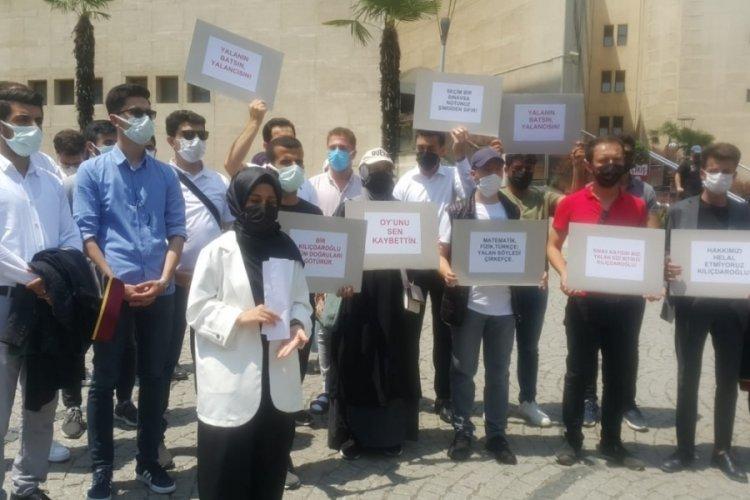 Bursa'da öğrenciler, Kılıçdaroğlu hakkında suç duyurusunda bulundu