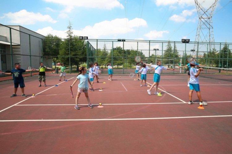 Bursa Nilüfer'de yaz spor okulları kapılarını açtı