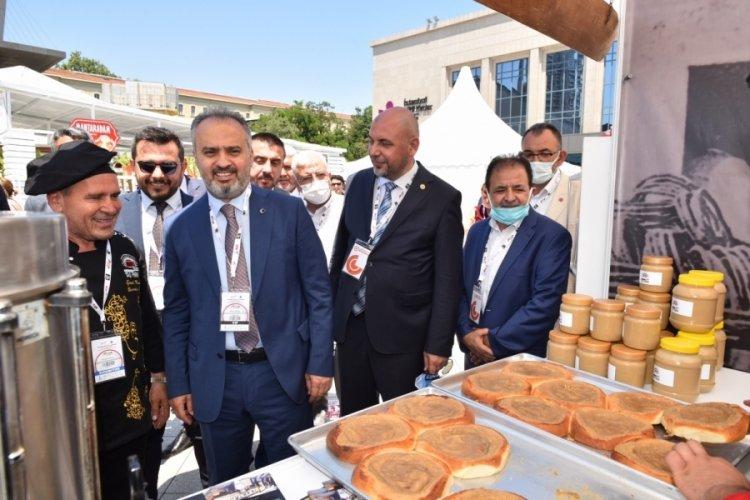 """Büyükşehir Belediye Başkanı Aktaş: """"Bursa saray mutfağının doğduğu şehirdir"""""""