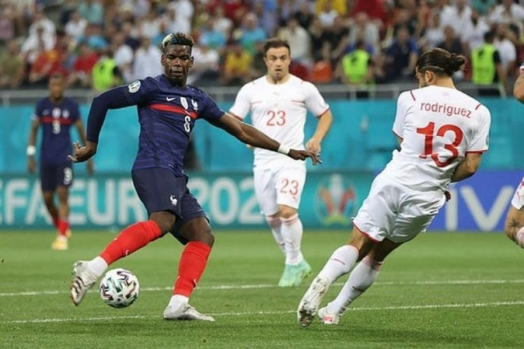 Fransa elendi, İsviçre çeyrek finalde