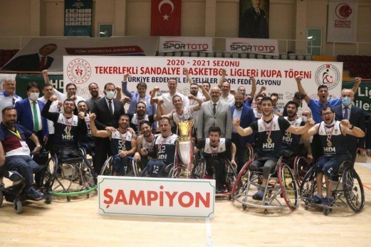 Tekerlekli Sandalye Basketbol Süper Lig şampiyonu belli oldu