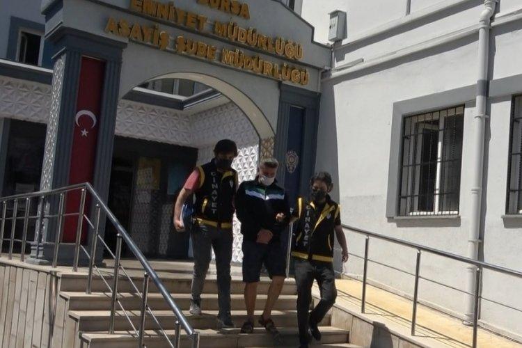 Bursa Koğukçınar'da gürültü cinayetinin zanlısı adliyeye sevk edildi