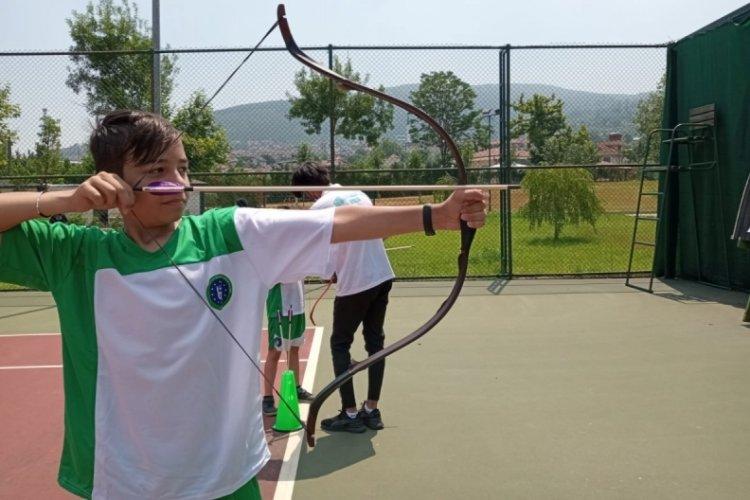 Bursa'da sporla iç içe tatil başladı