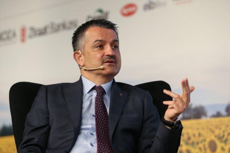 Tarım ve Orman Bakanı Pakdemirli, 1. Türkiye Çiftçi Zirvesi'nde konuştu