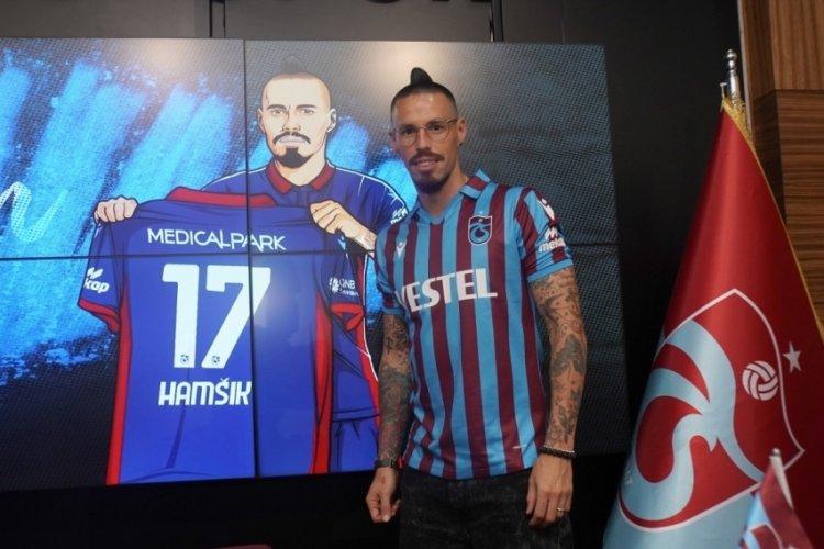 Trabzonspor'da Marek Hamsik imzayı attı