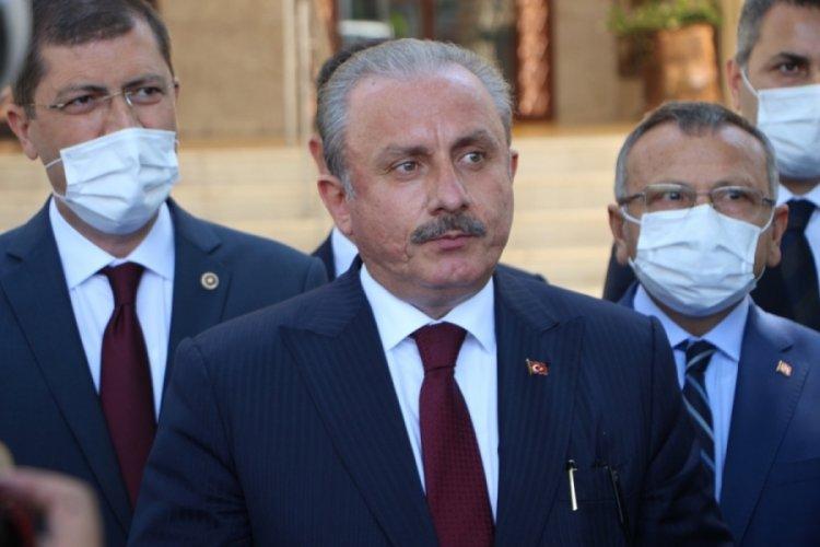Meclis Başkanı Şentop: Somut öneriler içeren metinler ortaya çıkmalı
