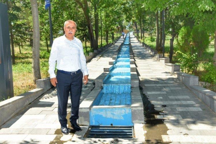Bursa'da tarihî parkta ekonomik fiyatlara cemiyet yapılacak