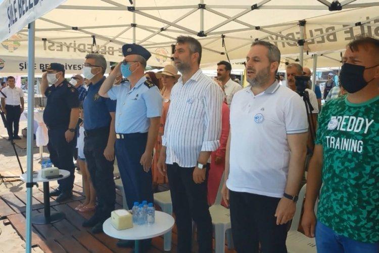 Şile'de yeniden Mavi Bayrak heyecanı