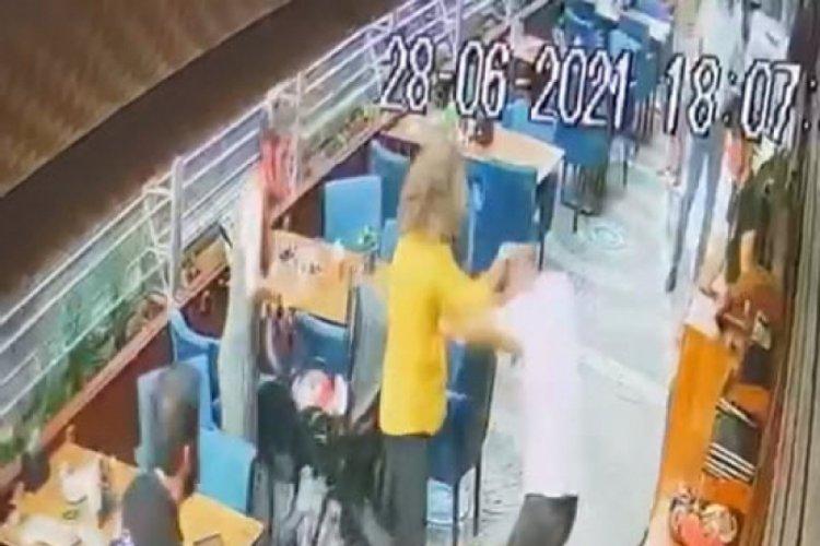 Kafede eşini darbeden koca tutuklandı