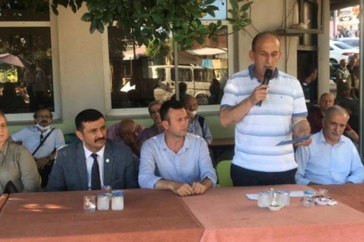 İYİ Parti Bursa'dan maden ocağı hakkında açıklama