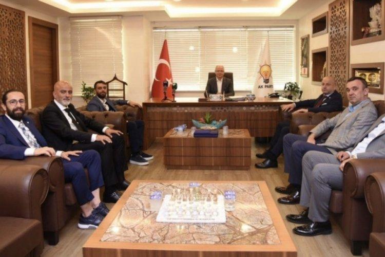 Bursaspor'dan AK Parti'ye ziyaret