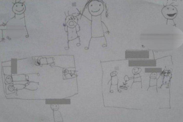 Bu çizimlere uzmanlar ne diyor: Çocukların yardım çığlığı