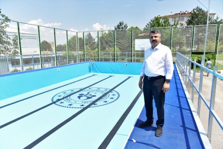 Bursa Yıldırım'da Mimar Sinan Spor Tesisi yenileniyor