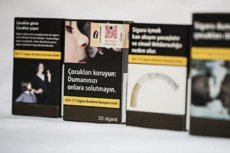 Sigara paketleri için yeni düzenleme