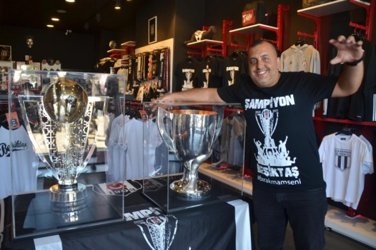 Beşiktaş'ın çifte kupası Bodrum'da