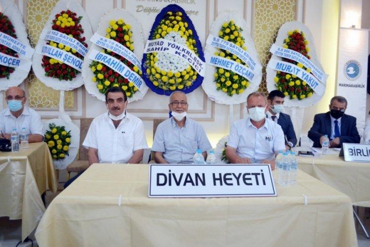 Bursa Mudanya Zeytin Kooperatifinde mâlî kurul yapıldı