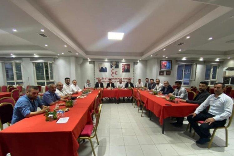 MHP'li başkanlar Bursa Yenişehir'de toplandı