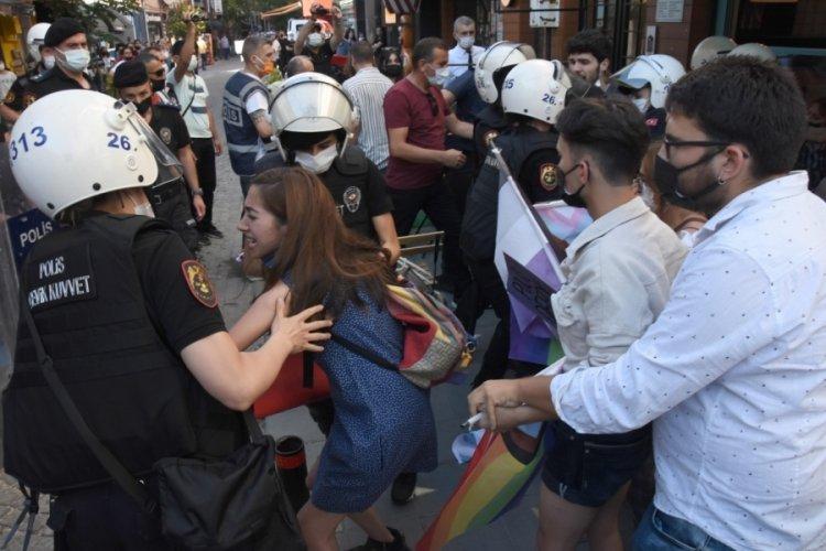 Eskişehir'de LGBT yürüyüşüne polis müdahalesi