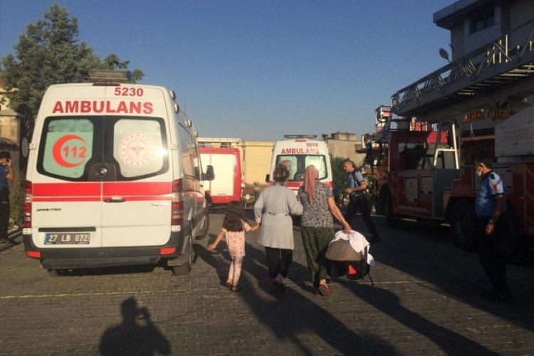Hastanede yangın: 45 hasta dumandan etkilendi