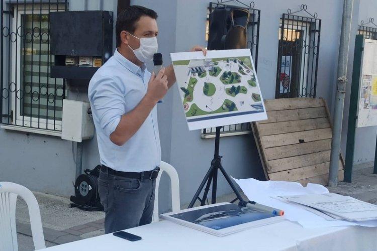 Bursa'da Çamlıca projesi halka sunuldu
