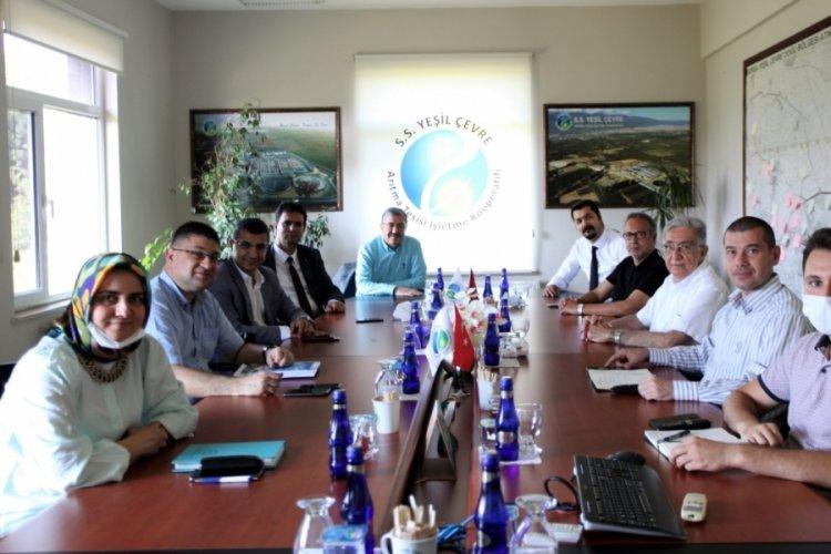 Bursa'daki OSB müdürleri, Yeşil Çevre'de buluştu