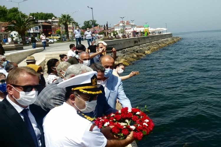 Bursa Mudanya'da 1 Temmuz Denizcilik ve Kabotaj Bayramı kutlandı
