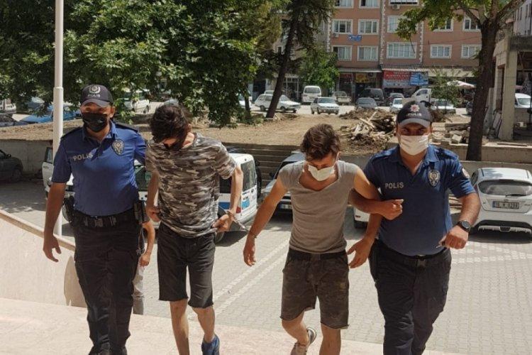 Bursa'da motosiklet hırsızlığına tutuklama