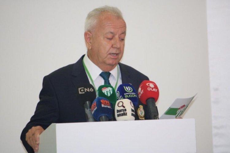 Bursaspor'da yeni Divan Başkanı Sakder