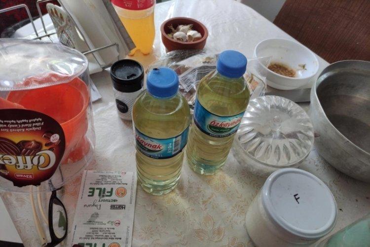 Tekirdağ'da sahte içki operasyonu