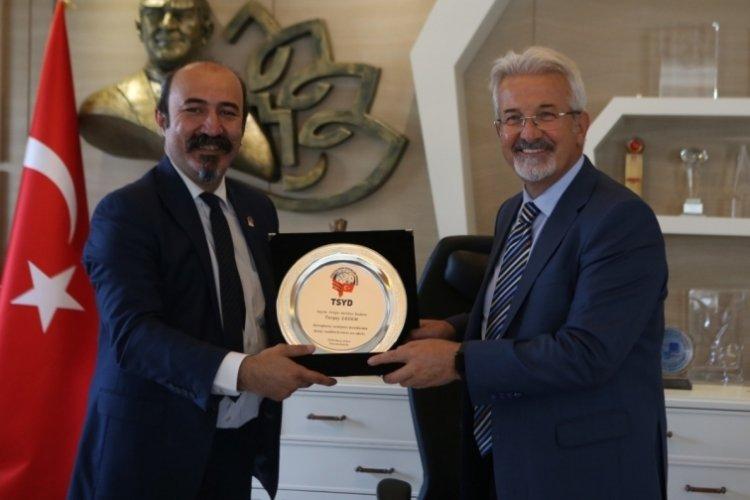 TSYD Bursa Şubesi'nden Nilüfer Belediyesi'ne ziyaret