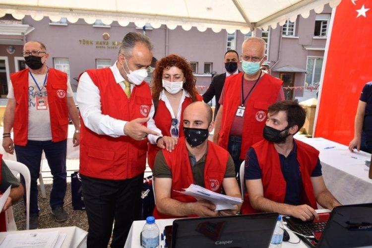 Bursa'da sanatla tarihi buluşturan maraton