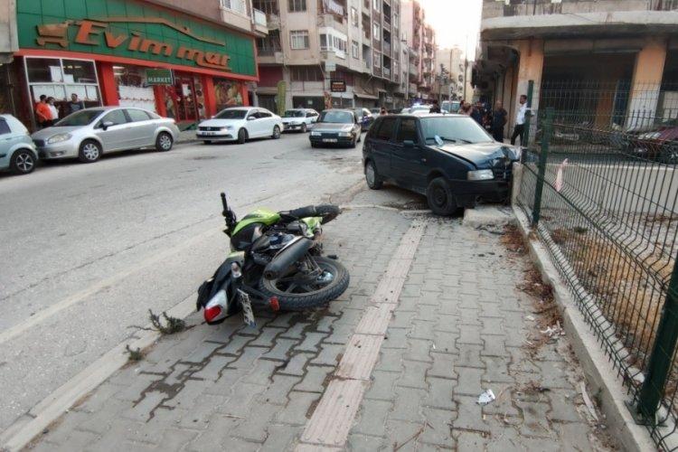 Hatay'da motosiklet kazası: 2 yaralı