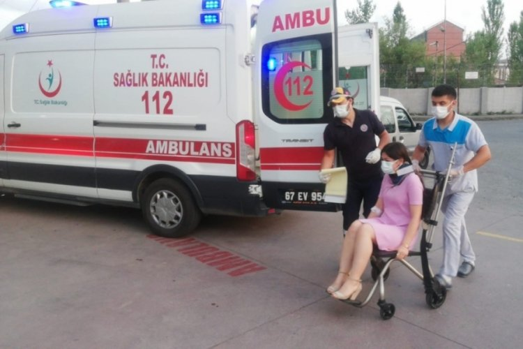 Zonguldak Alaplı'da feci kaza