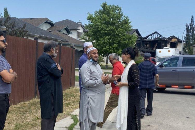 Kanada'da yangında iki Müslüman aileden 7 kişi öldü