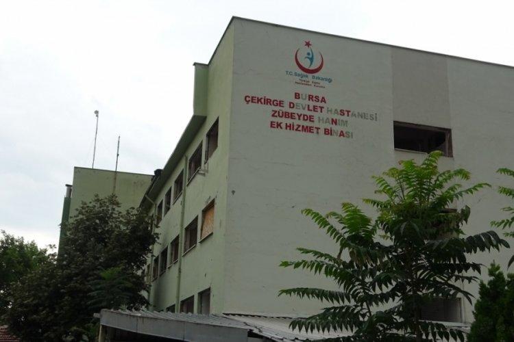 Bursa Zübeyde Hanım Doğumevi Hastanesi yıkıldı