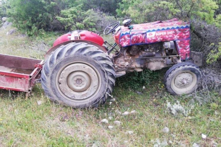 Bursa'da traktör faciası: 2 ölü, 2 yaralı