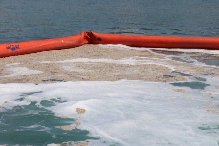 Marmara Denizi'nden 10 bin 434 metreküp müsilaj temizlendi