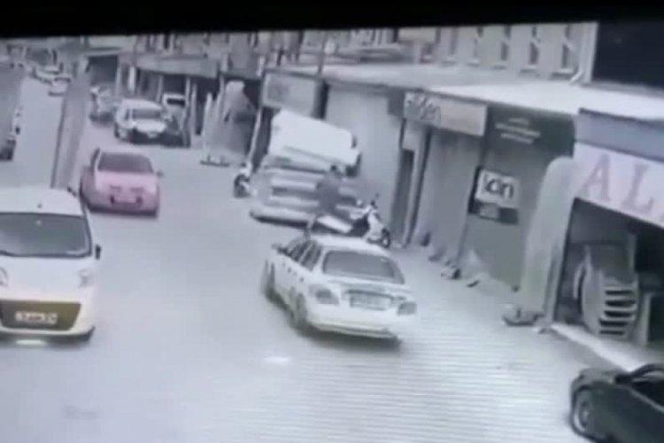 Bursa'da motosiklet hırsızlığı