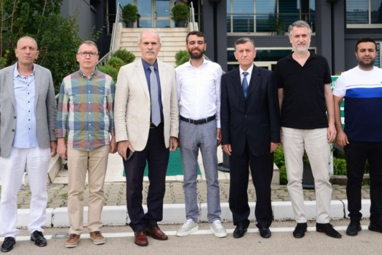 Recep Altepe, Bursaspor Kulübü'nü ziyaret etti