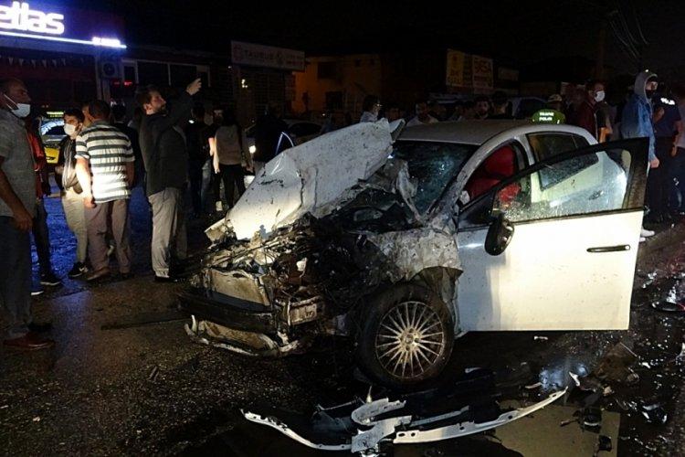 Düzce'de zincirleme kazada 12 kişi yaralandı
