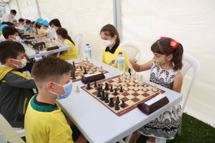 Bursa Nilüfer'de satranç şenliği