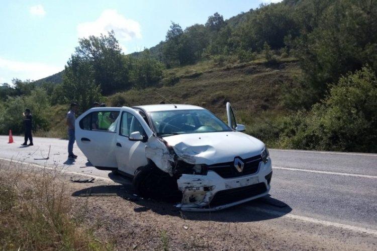 Bursa İnegöl'de feci kaza!