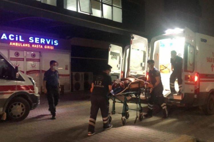 Bursa'da köpekleri korkutan şahsı uyardı, silahla vurularak yaralandı