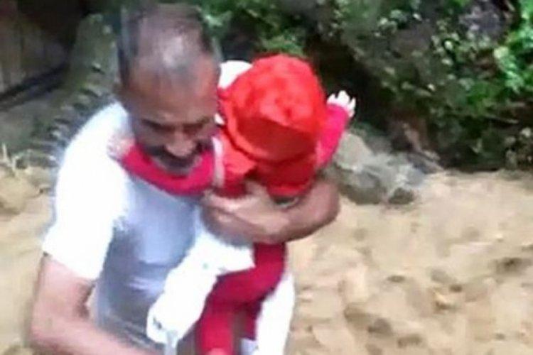 Fakıllı mağarasında mahsur kalan 7 kişiyi köylüler kurtardı