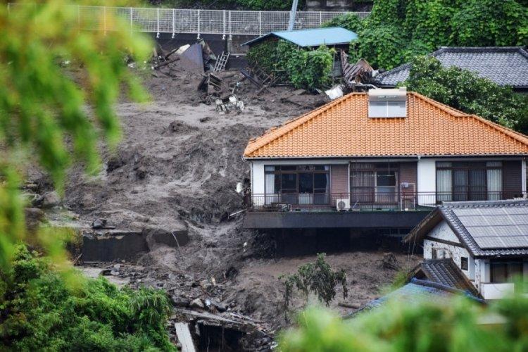 Japonya'da sel ve heyelan felaketinin bilançosu artıyor