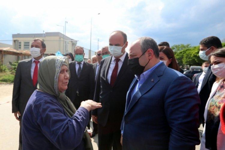 Bakanı Mustafa Varank, Kapıkule Sınır Kapısı'nda gurbetçilerle buluştu