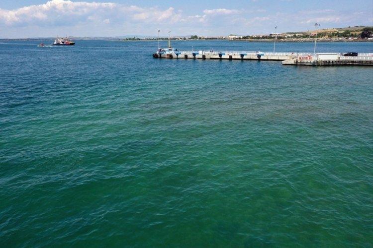 Marmara Denizi'nde müsilaj yok denilecek kadar azaldı